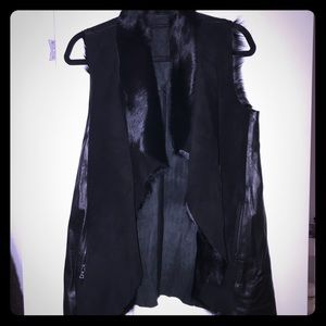Alice + Olivia original sample shearling vest